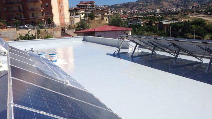 impermeabilizzare senza dismettere impianto fotovoltaico